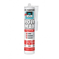 Bison Poly Max Crystal express transparant 300g