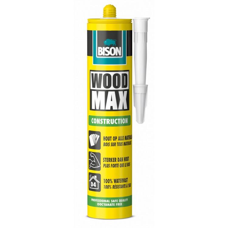 Bison Woodmax Houtconstructielijm 380 Gr