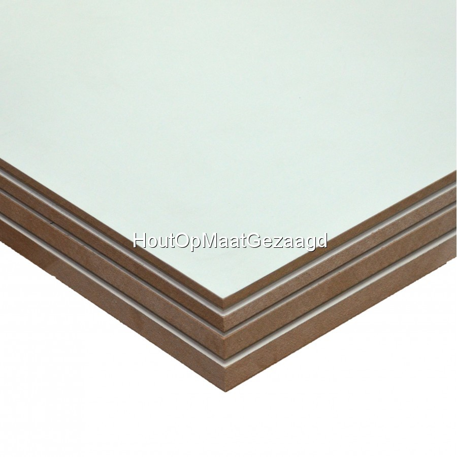 MDF interieur wit 122 x 244
